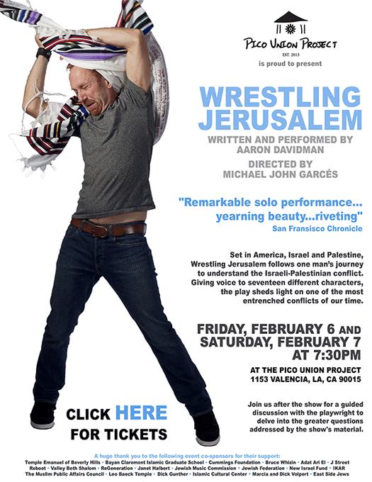 Wrestling Jerusalem with Aaron Davidman
