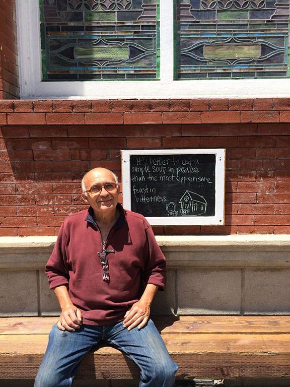George Alvarez, Groundskeeper at Pico Union Project
