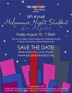 A Midsummer Night Shabbat