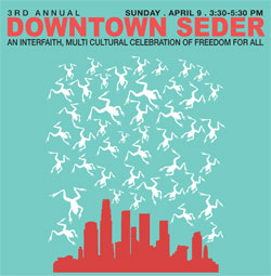 3rd Annual Downtown Seder