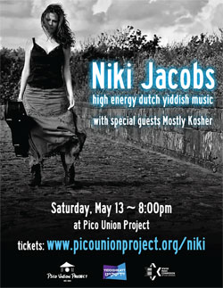 Niki Jacobs at Pico Union Project