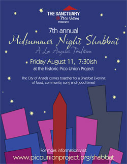 A Midsummer Night Shabbat