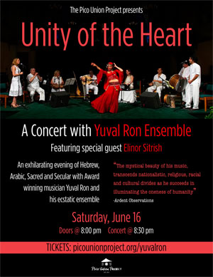 Unity of the Heart: A Concert with Yuval Ron Ensemble