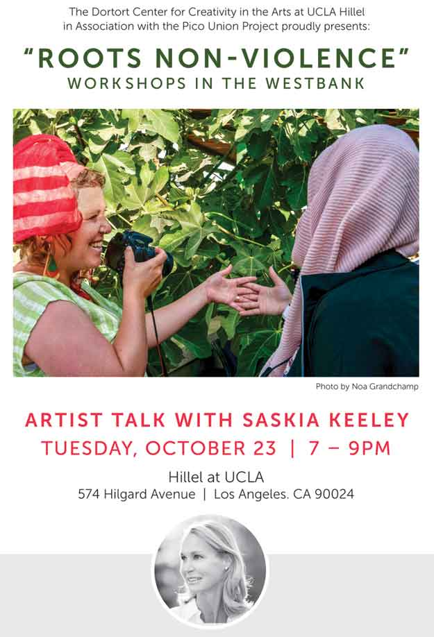 Artist Talk with Saskia Keeley